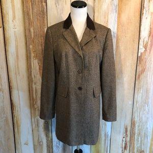 Vtg Cambridge Country Brown Tweed Riding Jacket 6